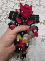 MTMTE chibi Tarn Plushie by shibara-draws-mecha