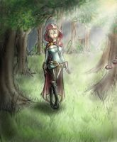 Little Red Riding Hood - colored by TwickyGirl