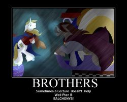 Brother Poster by StagetechyArt