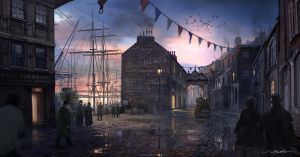 Victorian Harbour by stayinwonderland