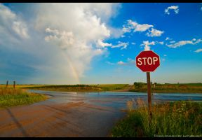 End of the Rainbow by FramedByNature