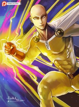 Saitama by Hassly