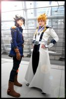 YGO 5D's Jack and Yusei by xXYami-no-tenshiXx