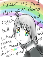 : Cheer Up and Dry Your Damp Eyes : by FrenchiestToast