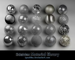 3ds materials by ipnotika