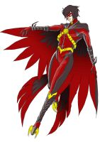 Red Robin Redesign : Pre color by namielric