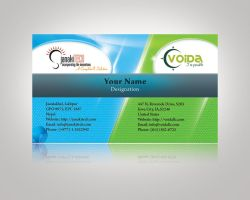 My 3rd Visiting Card Design by hood-lord