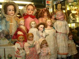 Antique Dolls 1 by Falln-Stock