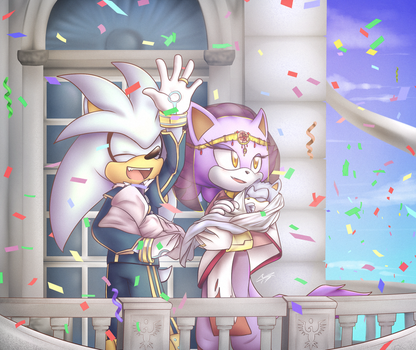 The New Prince and Princess of Sol by Glu10morgen