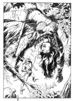 red sonja inked by darnet
