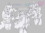 Shining Armor's Secret Revealed! by Caroos-Dungeon