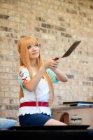 Asuna Cooking Outfit SAO Cosplay: Big Flip by firecloak