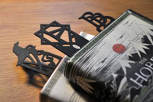 The Hobbit inspired bookmarks by Norloth