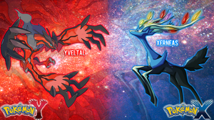 Pokemon X and Y Wallpaper by Redash2025