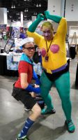 Mermaidman and Barnacleboy by Etrigan423