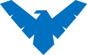 Nightwing Logo 1 by JMK-Prime