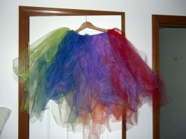 Nyan Cat Rainbow Tutu by toberkitty