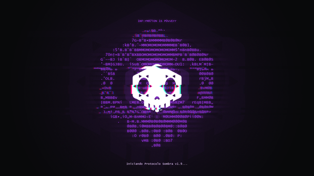 Protocolo Sombra Wallpaper 4K by Kanji2