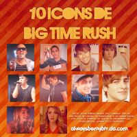 Icons de Big Time Rush by alwaysbemybtr