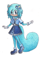 Mint the Marten by Cute-n-Sketchy