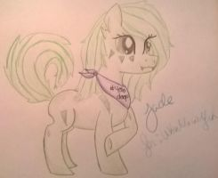 request: !Jade! for Ukulelewolfeh by Caymellow-Mallow