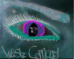 """WAStE Co."" Eye by hope-for-the-broken"