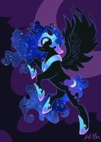 Nightmare Moon by K-Bo. by kevinbolk