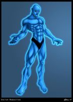 Doctor Manhattan by nellaboon
