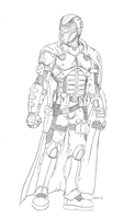 Alastor Armor Concept WIP by Ihlecreations