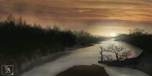 Landscape Practice by TheSlipSpaceJumper