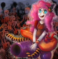 Spooky Cannon by ChibiWendy