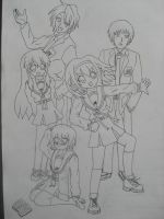 The Suzumiya Crew by TashaValentine
