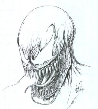 Venom regular smile by TuaX