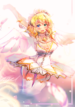 Angelic Happiness by Lapia