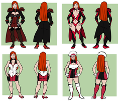 Redhead Scientist Outfit Ideas by HEARTZMD