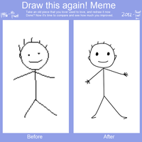 PARODY#1: Draw these meme 1 by RJAce1014