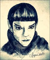 Young Spock by Nagini-snake