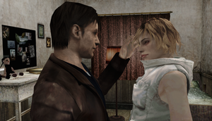 Heather Mason and Harry Mason Family Moment 1 by DarkReign27