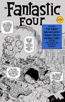 Fantastic Four first cover by TigerArtStudio