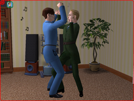 APH Sims: Dirty dancing XD by starflash111