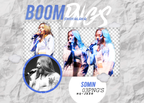 Somin PNG PACK#1|K.A.R.D by UpWishColorssx