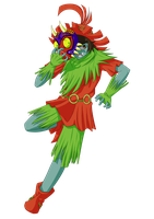 Mayoku Skull kid by mayoku-artz