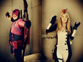 Hawkeye and Mockingbird - Okay... by WhiteLemon