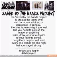 Saved By The Bands Project by Hirmione123