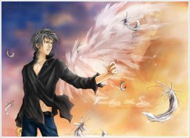 Touching the Sky - Akrel by EriDaiho
