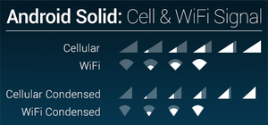 Android Solid - Cell and WiFi Signal by theBassment