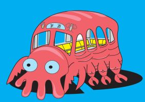 Need a bus, Why not Zoidberg by NonoKraken