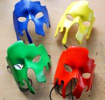 Splat leather masks by Masktastic