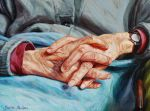 My grandmother's hands by bastienmillan