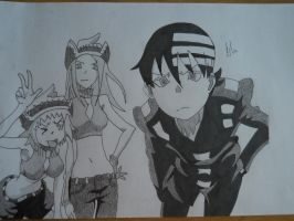 Soul Eater: Death The Kid by kyterro